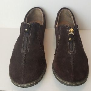 Naturalizer Women Brown Suede Shoes sz 7.5